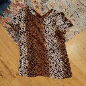 Tops - 3 for $12 Small/med sheer animal print shirt
